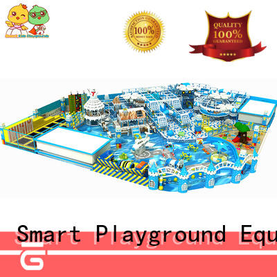 SKP safe snow theme playground promotion for Kids care center