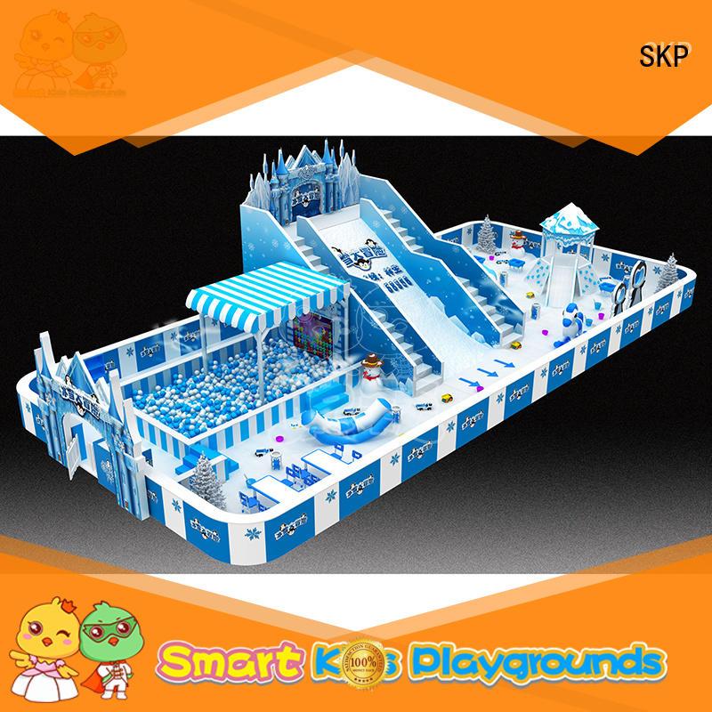 SKP oem snow theme playground wholesale for nursery