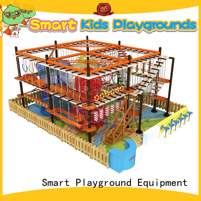 SKP course rope play equipment supplier for play house