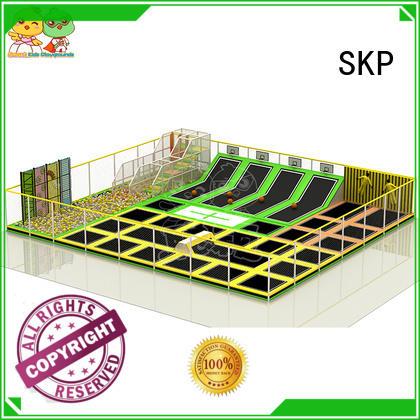SKP park trampoline park equipment for fitness for community