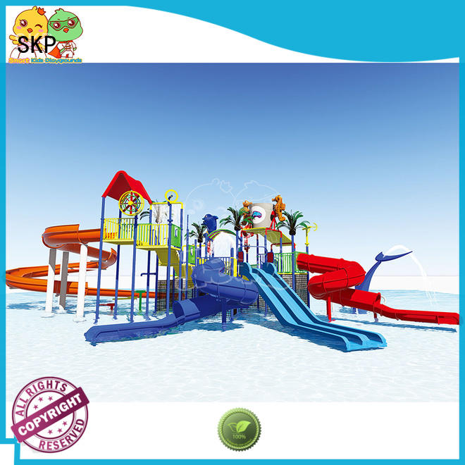 SKP outdoor water park playground promotion for playground
