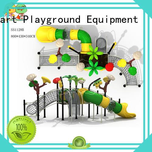 SKP stable plastic slide wholesale for pre-school