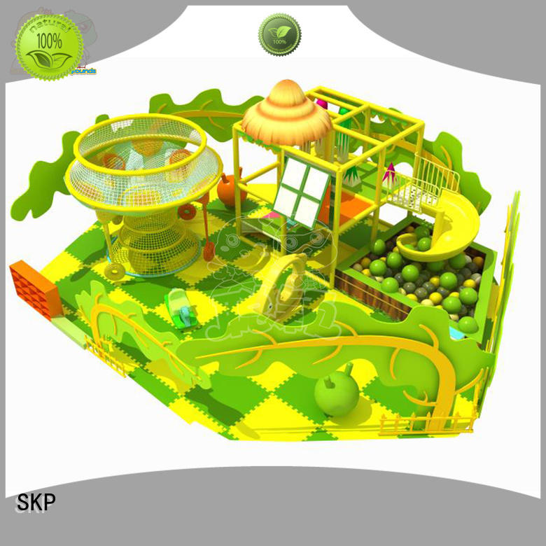 diy indoor jungle gym theme for play house SKP