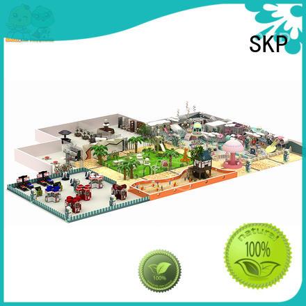 SKP safe childrens jungle gym factory price for playground
