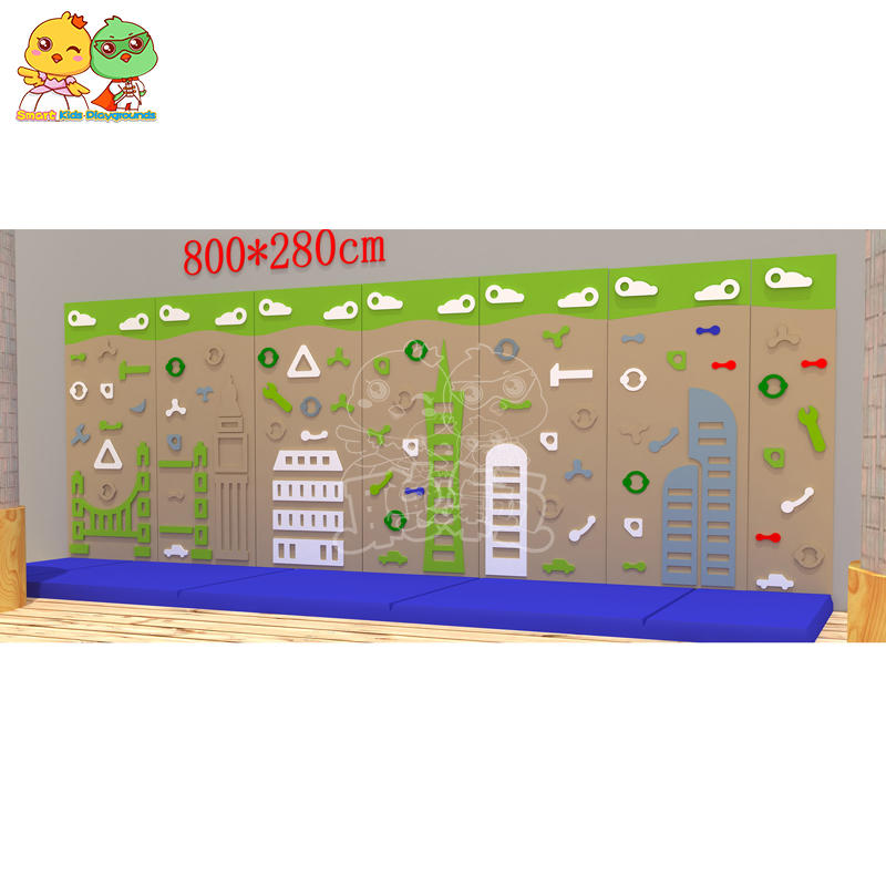 SKP high quality climbing wall on sale for fairground-2