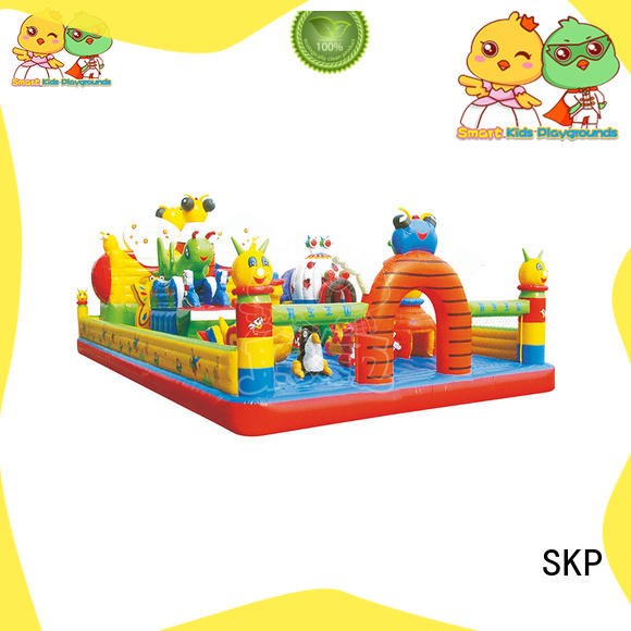 high quality inflatable toys children puzzle game for playground