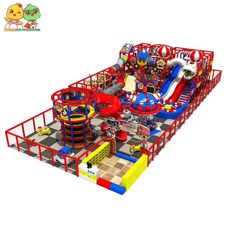 Most popular funny kids indoor playground equipment case large child soft play indoor