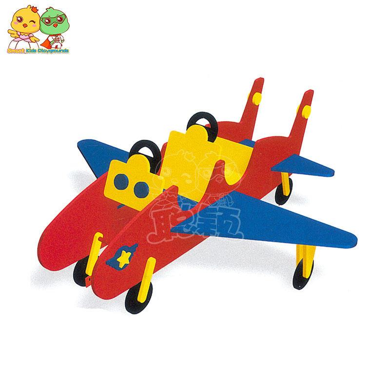 High - end aircraft shape outdoor shaking horse playground Park kindergarten rocking equipment children