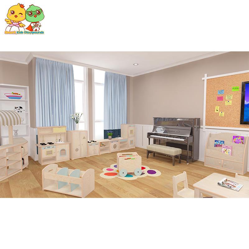 Multilayer Board Kindergarten Furniture Simulation Appliances SKP