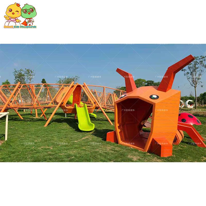 Large outdoor children's playground equipment children amusement park slide
