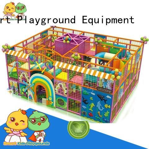 hot equipment children high-quality Smart Kids Playgrounds Brand candy theme playground supplier
