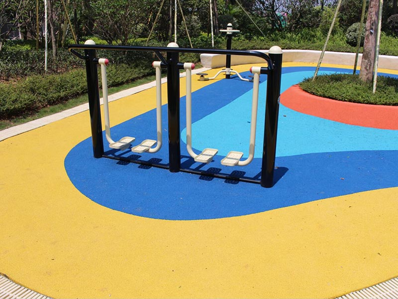 SKP strong fitness equipment safety for residential park-3