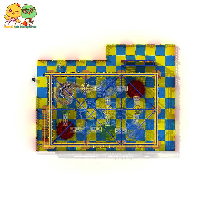customized rope play equipment play for fitness for Kindergarden-2