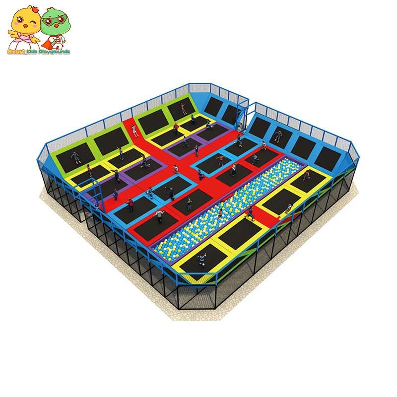 big trampoline indoor trampoline park equipment for sale SKP-1811204