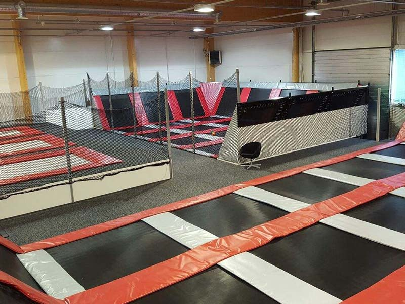 security trampoline park equipment sale on sale for amusement park-14