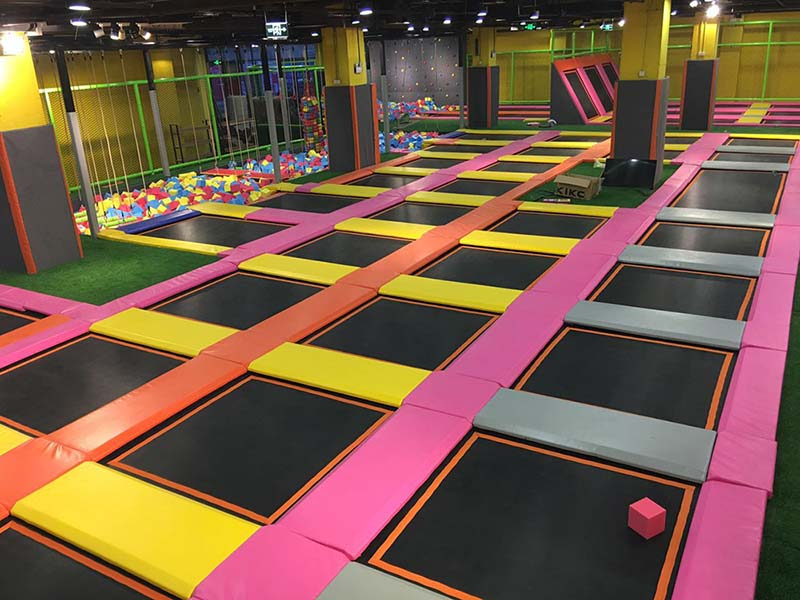 stable trampoline park equipment high quality for Kindergarten-10