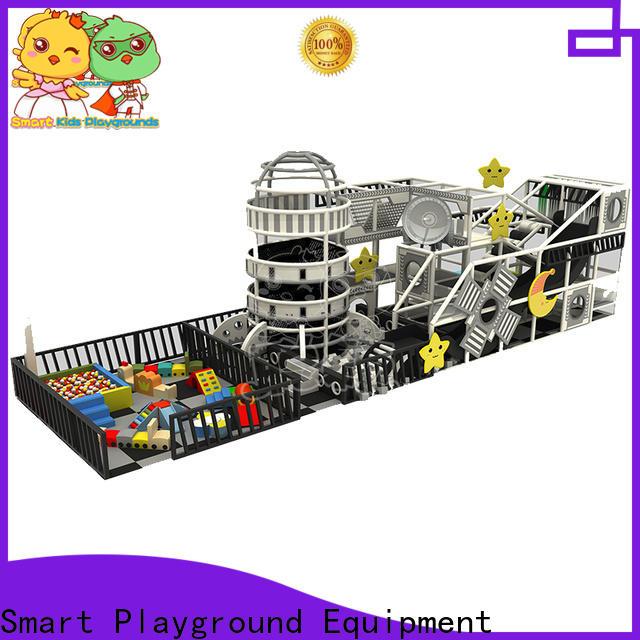 SKP maze space theme playground Slide for play centre