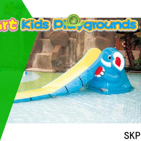 durable water slides park promotion for plaza
