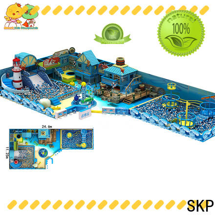 SKP Customized ocean playground wholesale for restaurant