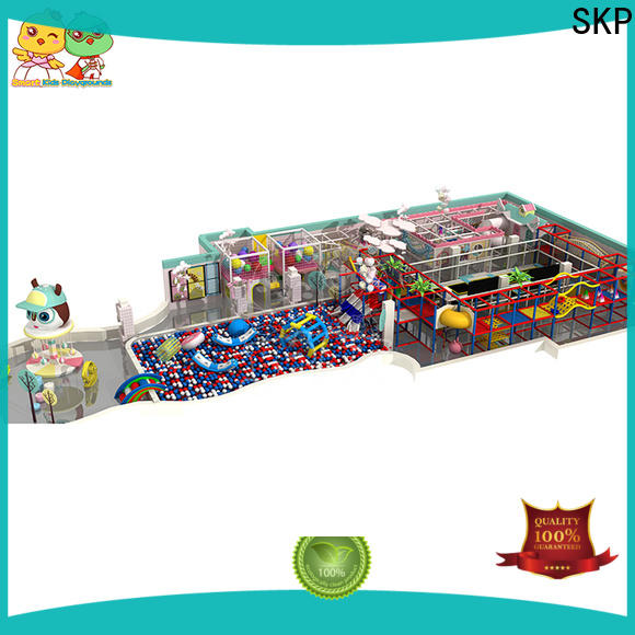 SKP Customized space theme playground Slide for plaza