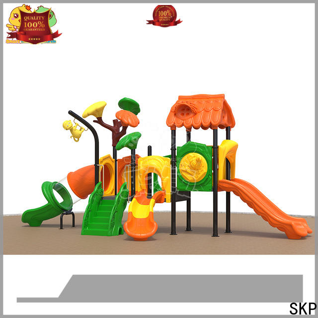 SKP high quality plastic slide factory for residential area