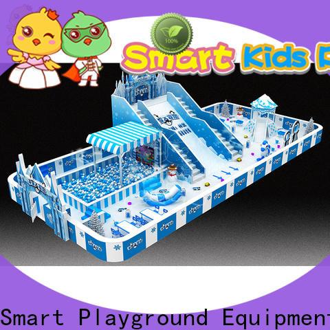 SKP safe snow theme playground promotion for kindergarten