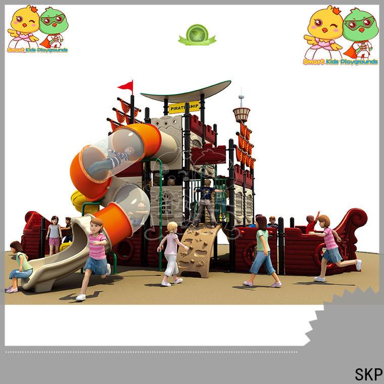 SKP safe wooden slide directly sale for restaurant