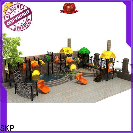 SKP durable wooden slide online for pre-school
