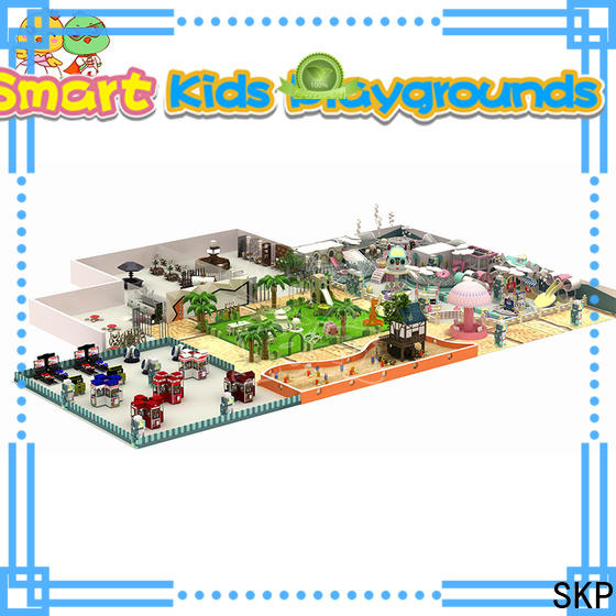 SKP safe childrens jungle gym puzzle game for shopping mall