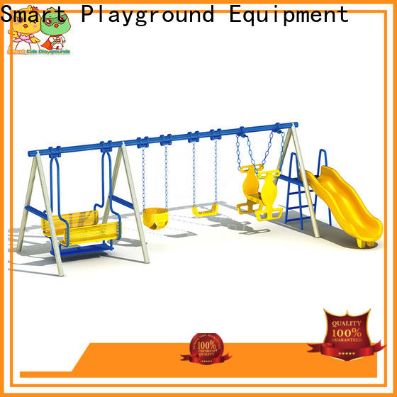 SKP high quality wooden slide factory for Amusement park