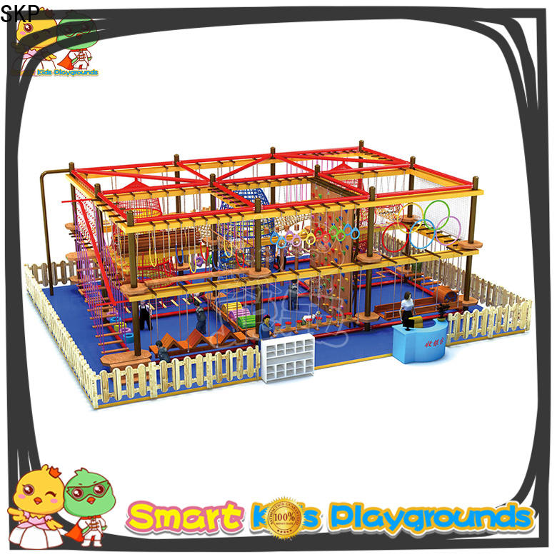 SKP customized rope play equipment for fitness for play house