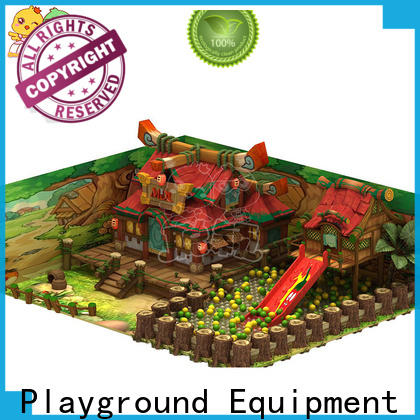 durable wooden playground supplier for shopping centre