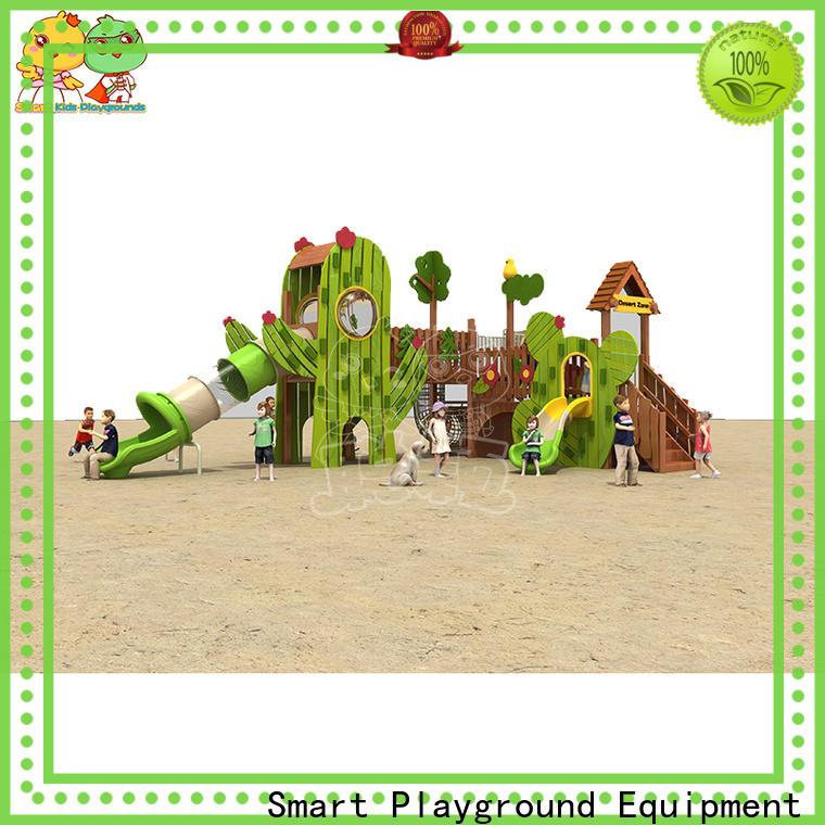 SKP playground plastic slide directly sale for pre-school