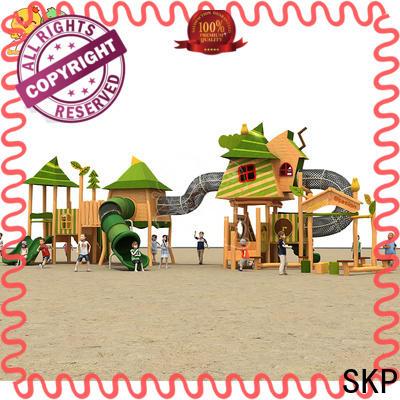 SKP outdoor kids slide wholesale for pre-school