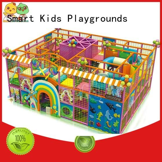 Smart Kids Playgrounds standard candy theme playground factory for playground