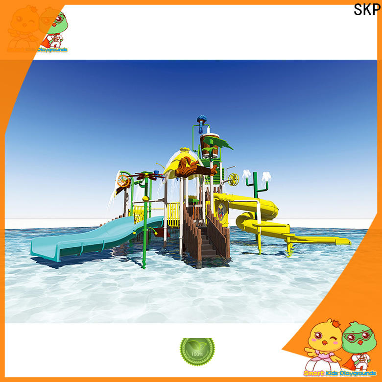 colorful water park equipment items factory price for playground
