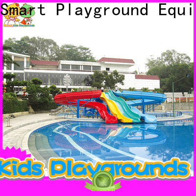 security water slides play simple assembly for playground