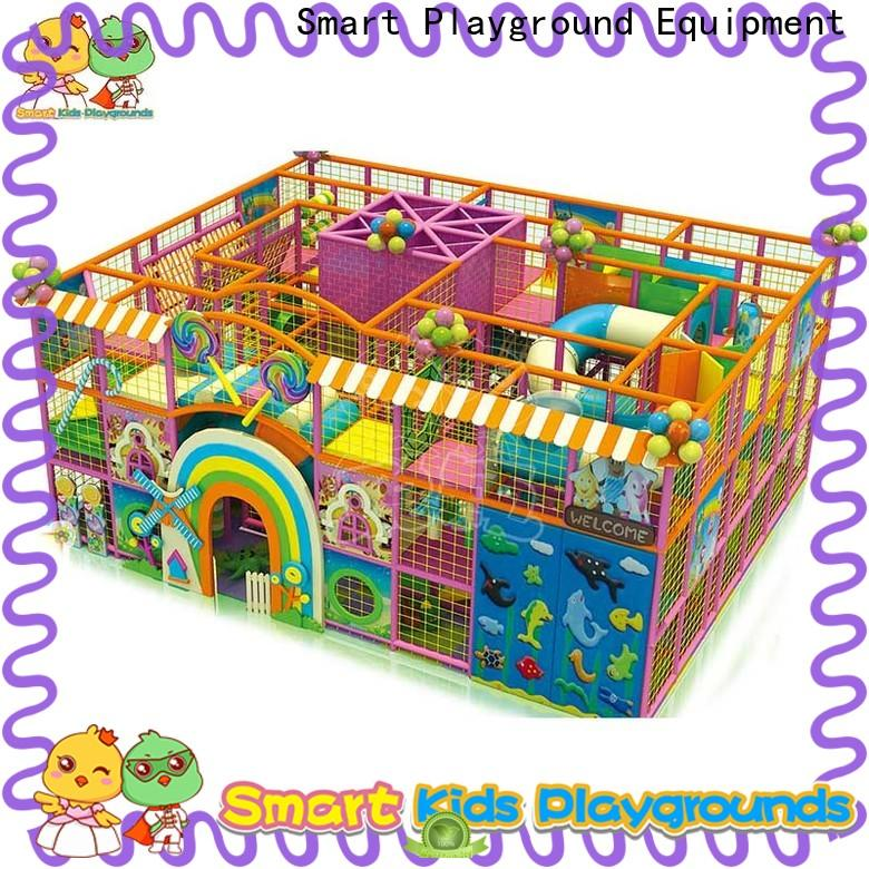 safe candy theme playground maze supplier for play centre