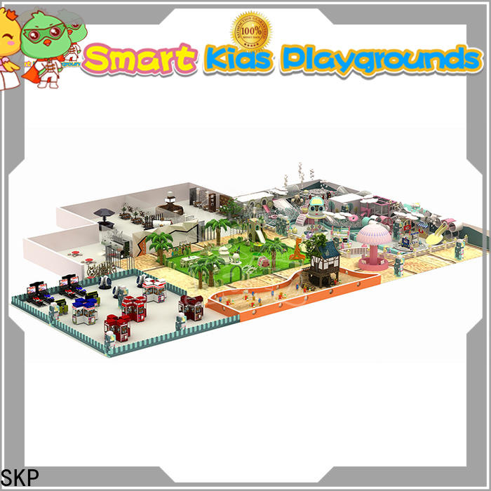 SKP best jungle gym playground directly price for Kindergarden