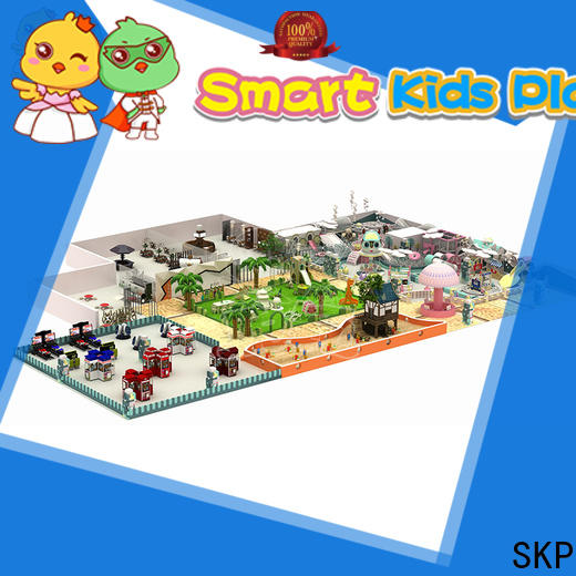 SKP indoor maze equipment factory price for Kindergarden