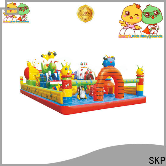 SKP healthy inflatable toys puzzle game for play centre