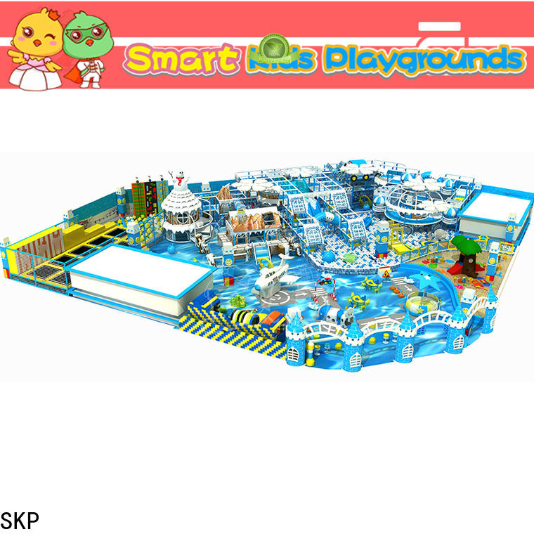 SKP snow theme playground wholesale for Kids care center