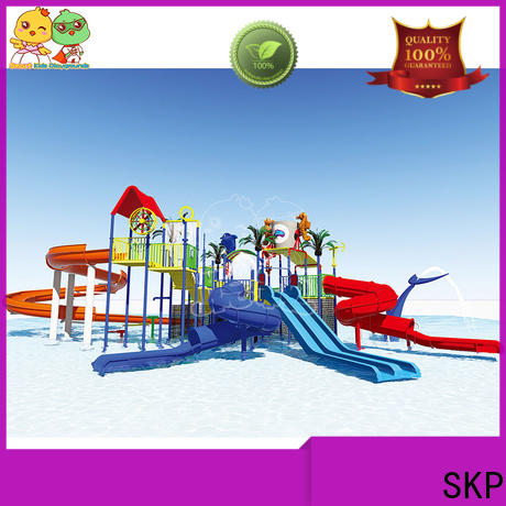 SKP slide water park equipment simple assembly for playground