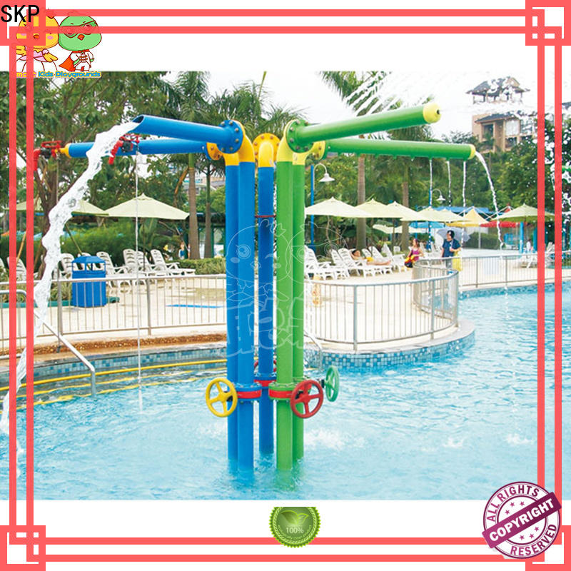 SKP slide water park playground simple assembly for plaza