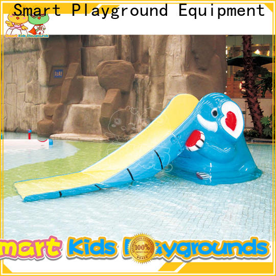durable park water slides equipment simple assembly for plaza