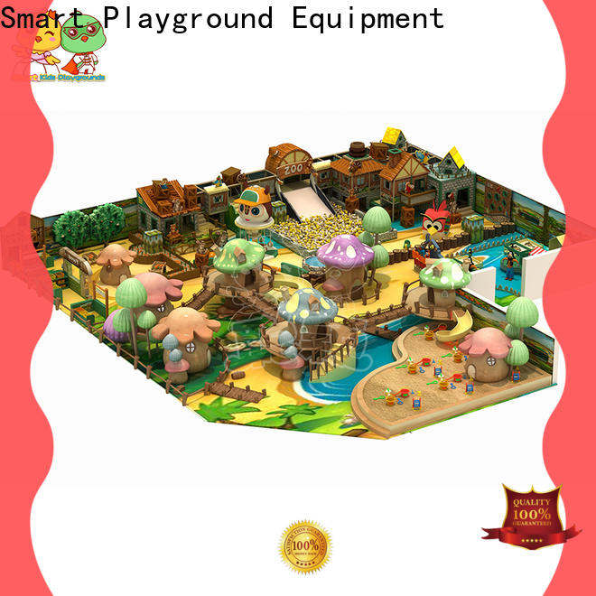 SKP customized Christmas theme playground for kids fun for play centre