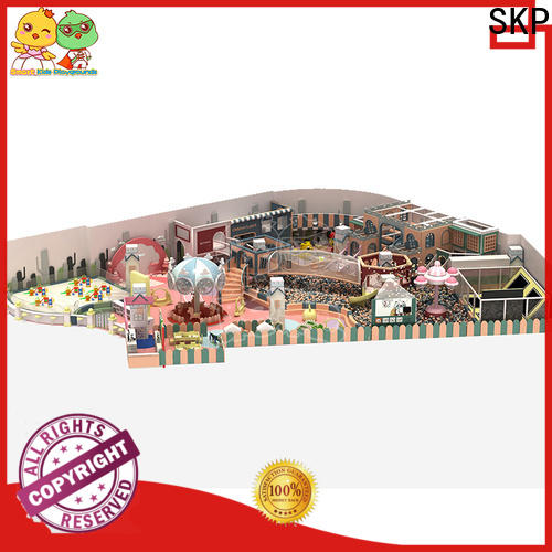 SKP safe candy theme playground supplier for plaza