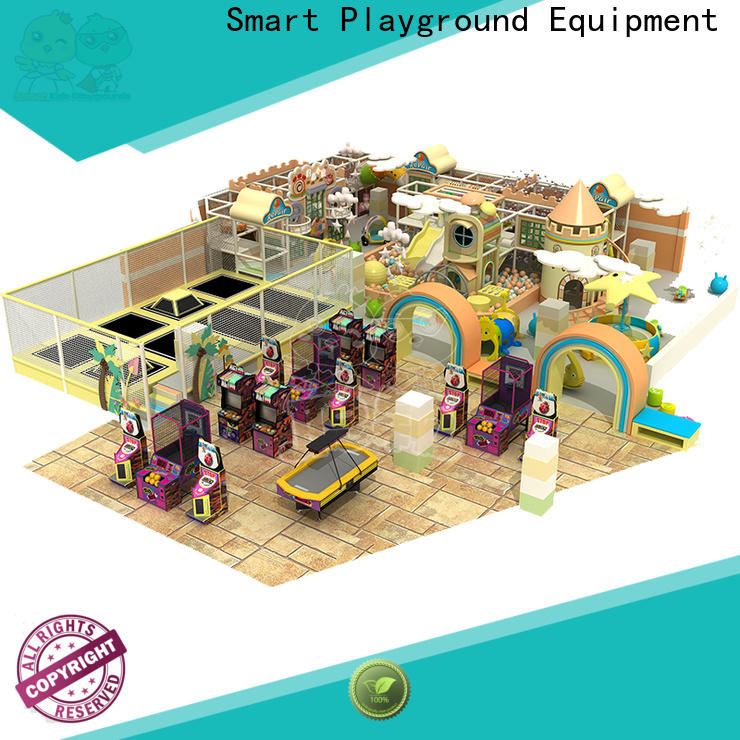 standard candy theme playground children supplier for play house