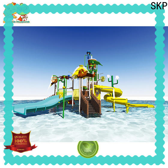 security water park equipment playground simple assembly for plaza