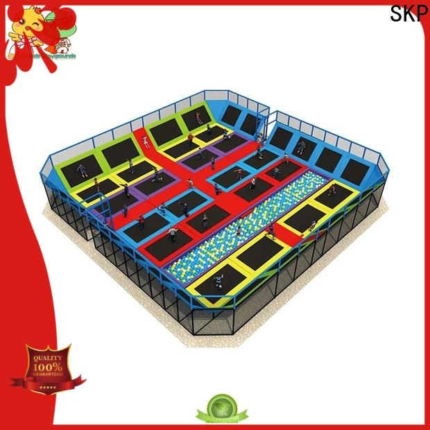 Customized trampoline park equipment indoor high quality for community